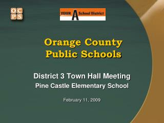 Orange Area State funded Schools