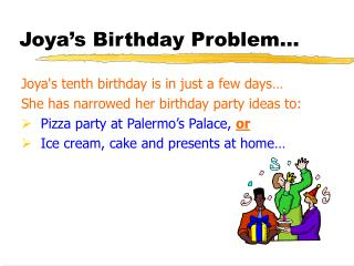Joya's Birthday Issue