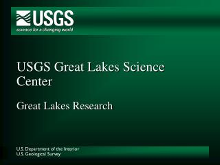 USGS Awesome Lakes Science Center