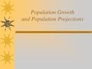 Populace Development and Populace Projections