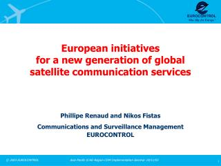 European activities for another era of worldwide satellite correspondence administrations