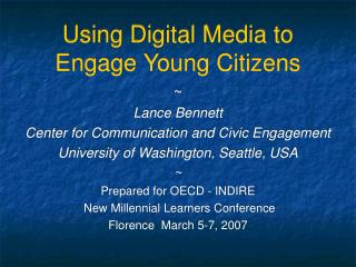 Utilizing Advanced Media to Connect with Youthful Residents