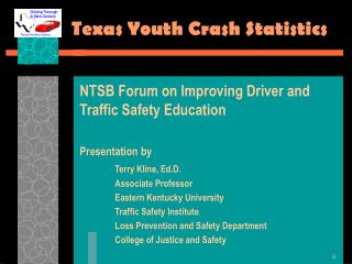 Texas Youth Crash Measurements