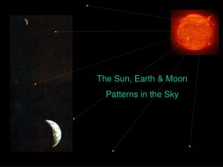 The Sun, Earth and Moon Designs in the Sky