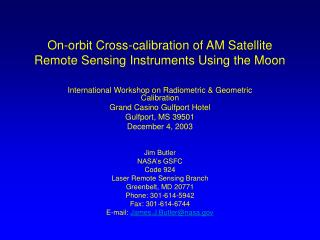 On-circle Cross-adjustment of AM Satellite Remote Detecting Instruments Utilizing the Moon