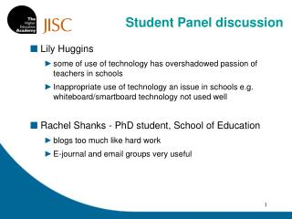 Lily Huggins some of utilization of innovation has eclipsed energy of instructors in schools