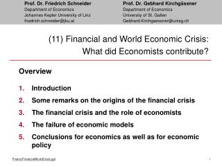 (11) Monetary and World Financial Emergency: What did Market analysts contribute?