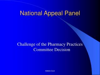 National Bid Board