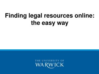Finding legitimate assets online: the easy way