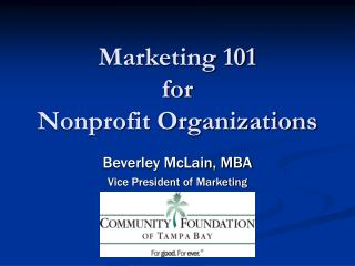 Advertising 101 for Not-for-profit Associations