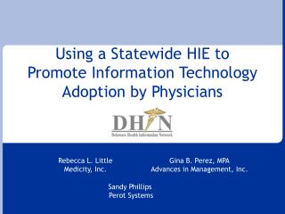 Utilizing a Statewide HIE to Advance Data Innovation Selection by Doctors