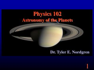 Material science 102 Stargazing of the Planets