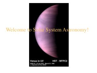 Welcome to Close planetary system Space science!