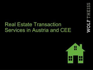 Land Exchange Administrations in Austria and CEE