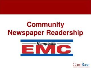 Group Daily paper Readership