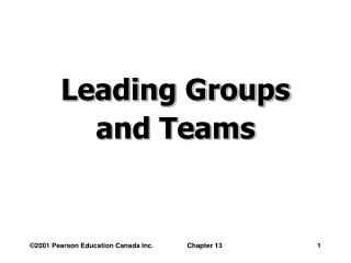 Driving Gatherings and Groups
