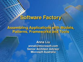 Programming Manufacturing plant Gathering Applications with Models, Examples, Systems and Apparatuses