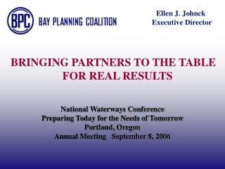 National Conduits Gathering Get ready Today for the Requirements of Tomorrow Portland, Oregon Yearly Meeting September 8