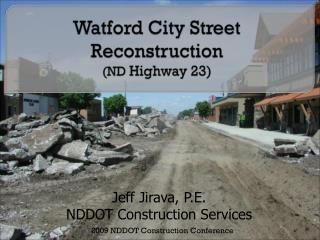 Watford City Road Recreation (ND Interstate 23)