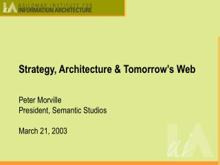 Methodology, Design and Tomorrow's Web