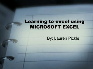 Figuring out how to exceed expectations utilizing MICROSOFT Exceed expectations