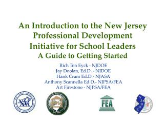 A Prologue to the New Jersey Proficient Advancement Activity for School Pioneers A Manual for Beginning