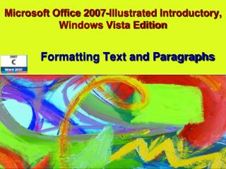Microsoft Office 2007-Represented Basic, Windows Vista Release