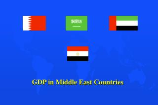 Gross domestic product in Center East Nations
