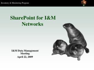 SharePoint for I&M Systems