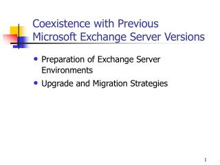 Conjunction with Past Microsoft Trade Server Adaptations