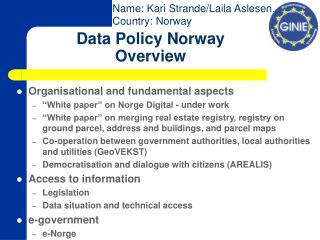 Information Arrangement Norway Review