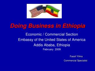Working together in Ethiopia