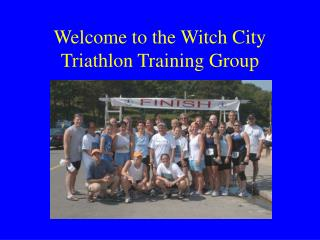 Welcome to the Witch City Marathon Preparing Bunch