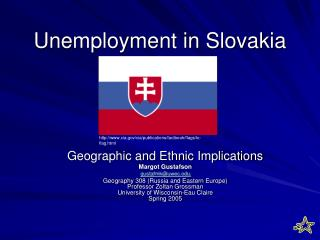 Unemployment in Slovakia