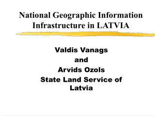 National Geographic Data Foundation in LATVIA