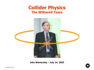 Collider Material science The Witherell Years