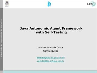 Java Autonomic Specialists System with Self-Testing
