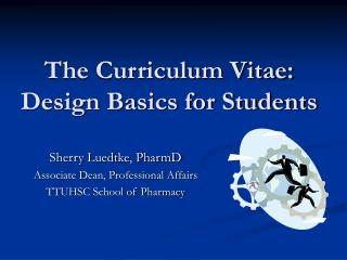 The Educational programs Vitae: Outline Fundamentals for Understudies