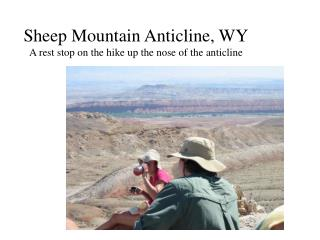 Sheep Mountain Anticline, WY A lay stop on the climb up the nose of the anticline