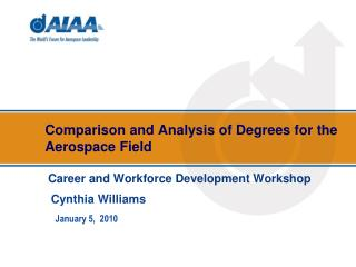Correlation and Examination of Degrees for the Aviation Field