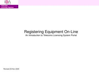 Enrolling Hardware On-Line A Prologue to Telecoms Permitting Framework Gateway