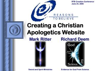 Making a Christian Rational theology Site