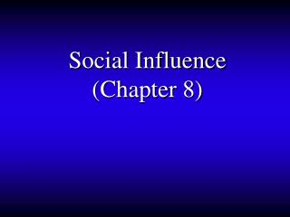 Social Impact (Section 8)