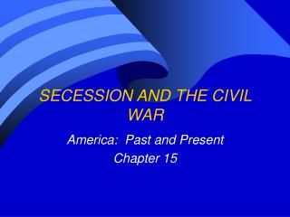 Severance AND THE Common WAR