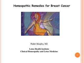 Homeopathic Solutions for Bosom Tumor