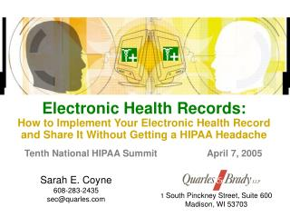 Electronic Wellbeing Records: How to Execute Your Electronic Wellbeing Record and Share It Without Getting a HIPAA Cereb