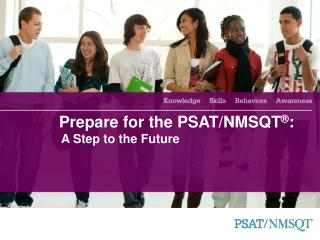 Get ready for the PSAT/NMSQT