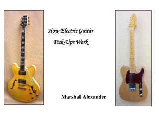 How Electric Guitar Pick-Ups Work