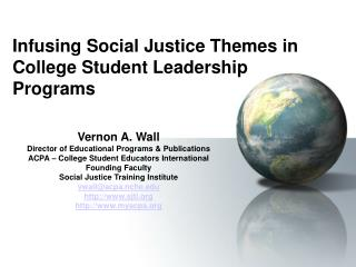Imbuing Social Equity Subjects in Undergrad Initiative Projects