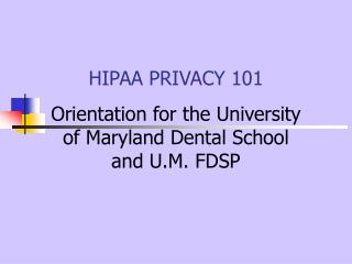 HIPAA Protection 101